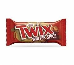 Шоколадный батончик Twix Зимние специи 46 гр
