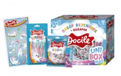 Набор кондитерских изделий Docile Uni Box Plus 164 гр