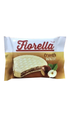 Вафли Fiorella в белом шоколаде 20 гр