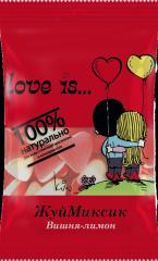 """Мармелад жевательный """"Love is..."""" ЖуйМиксик Вишня-лимон 25 гр"""