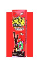 Печенье Sunyoung Палочки шоколадные с взрывающейся карамелью 54 гр