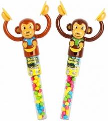 Леденцовая карамель Kidsmania с игрушкой Wacky Monkey 12 грамм