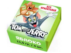 Конфеты жевательные Tom and Jerry Яблоко 11,5 грамм