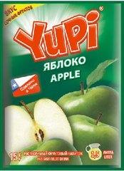 Растворимый напиток YUPI Яблоко 15 грамм