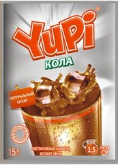 Растворимый напиток YUPI Кола 15 грамм