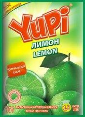 Растворимый напиток YUPI Лимон 15 грамм