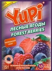 Растворимый напиток YUPI Лесные ягоды 15 грамм