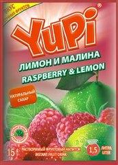 Растворимый напиток YUPI Малина-лимон 15 грамм