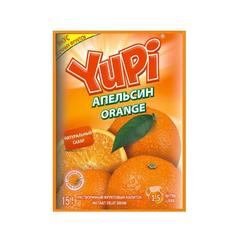 Растворимый напиток YUPI Апельсин 15 грамм