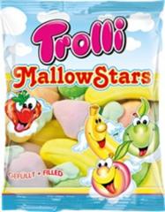 Зефир с начинкой Trolli Mallow Stars 150 гр