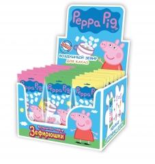 Зефир воздушный Peppa Pig для какао 15 гр