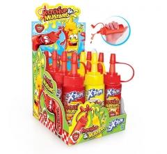 Жидкая конфета-сироп Ketchup&Mustard Х-TREME 50мл