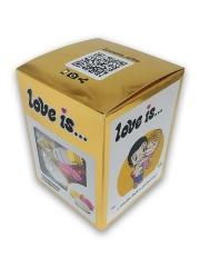 Сливочные жевательные конфеты Love is Микс вкусов ЗОЛОТАЯ серия 105 гр
