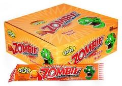 Жевательная конфета 'Джо Джо вкус апельсин' JoJo Mega Zombie Orange 20 грамм