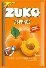 Растворимый напиток ZUKO Абрикос 25 грамм