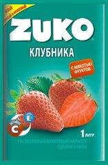 Растворимый напиток ZUKO Клубника 25 грамм
