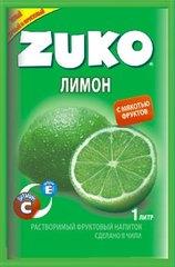 Растворимый напиток ZUKO Лимон 25 грамм
