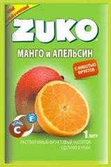 Растворимый напиток ZUKO Манго-апельсин 25 грамм