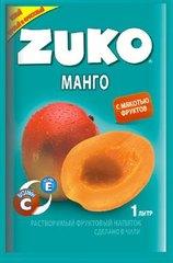 Растворимый напиток ZUKO Манго 25 грамм