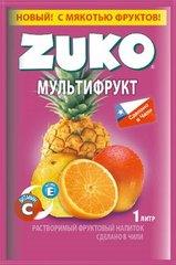 Растворимый напиток ZUKO Мультифрукт 25 грамм